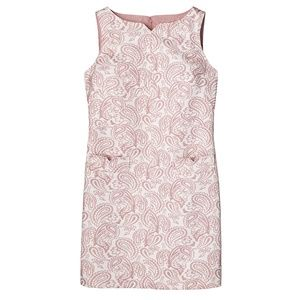 Victoria Beckham Pink Blush Jacquard Dress NWT szS